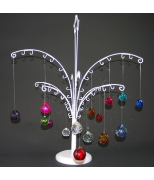 Multi facet ball display-Metal tree