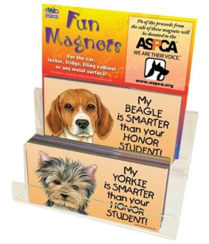My Dog is Smarter: 4eax27=108pc. Disp.