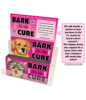 Bark for the cure 4EAx27=108PC Disp