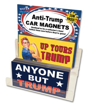 Anti-Trump Magnet Display 108pc