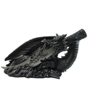 "Dragon with knife 12""L"