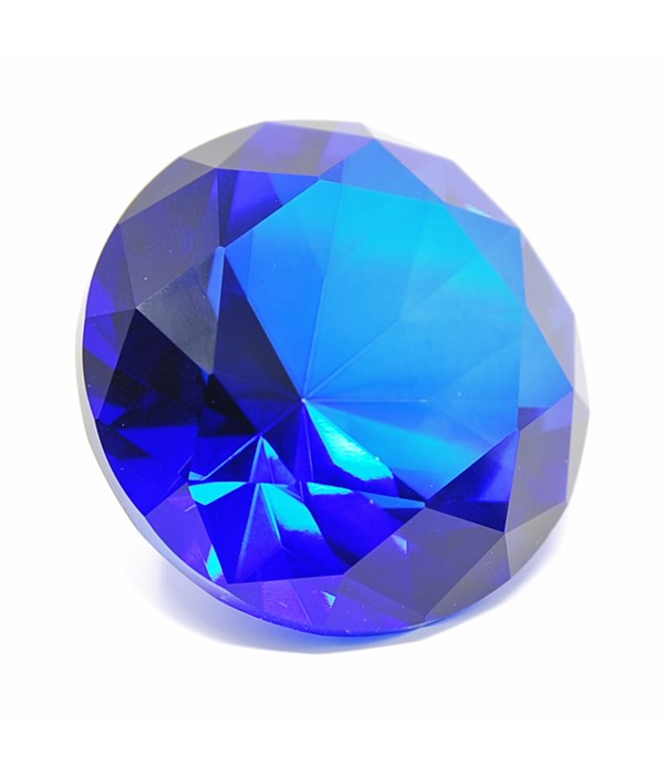 60MM Cobalt Blue Diamond