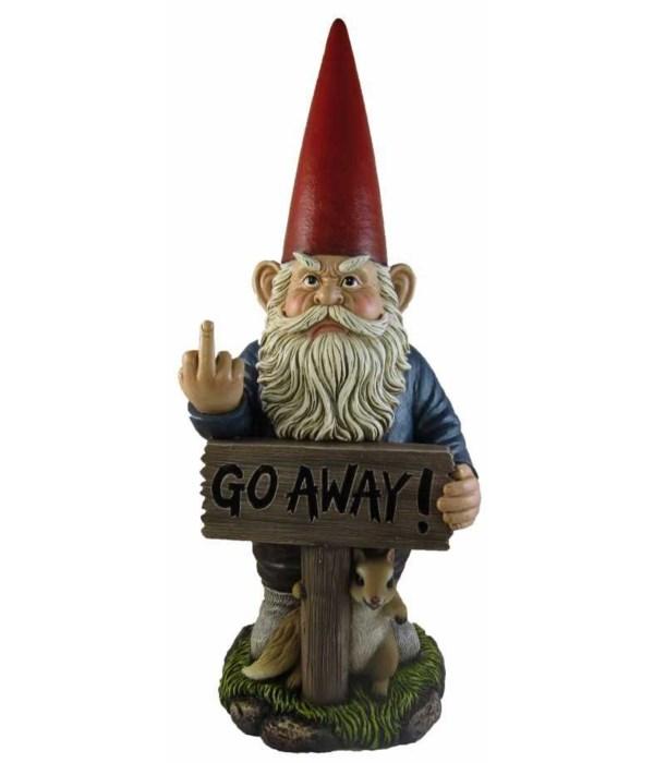 """Gnome -""""Go Away"""" - 18"""""""