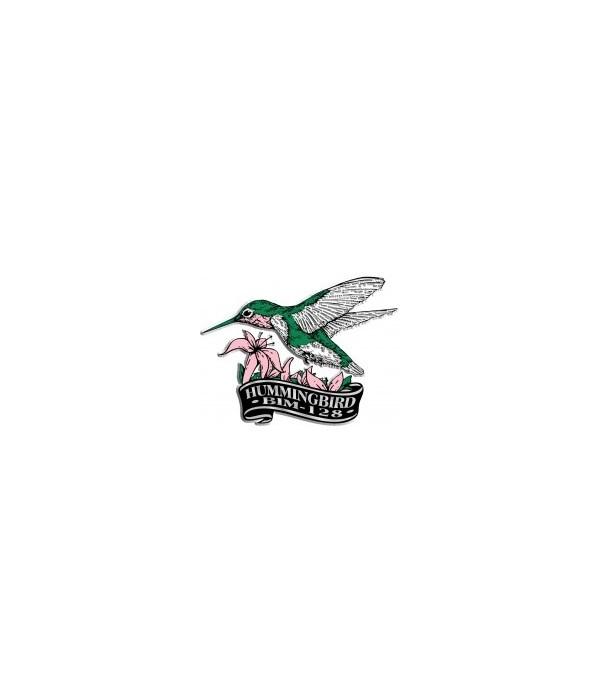 *WV Hummingbird banner magnet