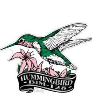 *Charleston, WV Humming bird magnet