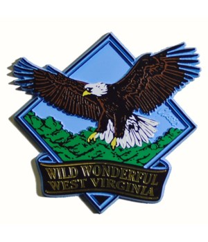 *WV Eagle magnet/DIA