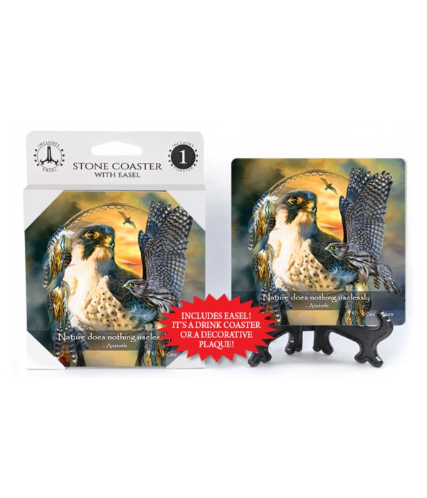 Falcon  Nature does nothing uselessly.  Aristotle 1 Pack Coaster