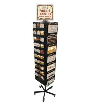 Farm & Country Sign & Magnet Display 234PC