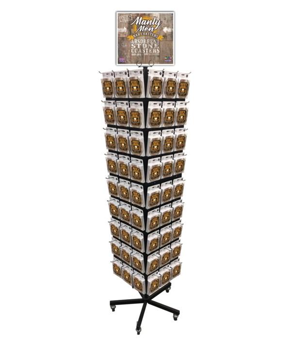 Manly Men Bar Coasters 540PC
