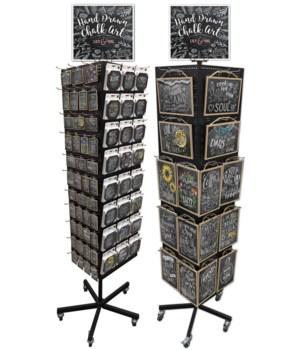 Chalk Art Coaster,Sign & Magnet Unit/256
