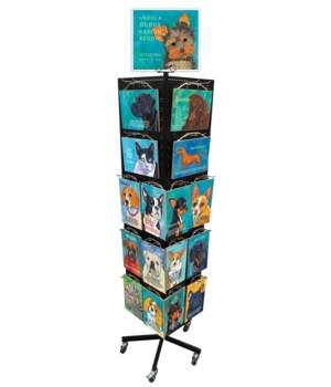 Ursula Dodge Dog & Cat Display / 128 PCS