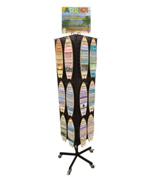 Advice Plank Surfboard Display 24x5=120