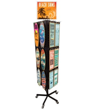Surfboard & Rectangle display 24 x 5=120