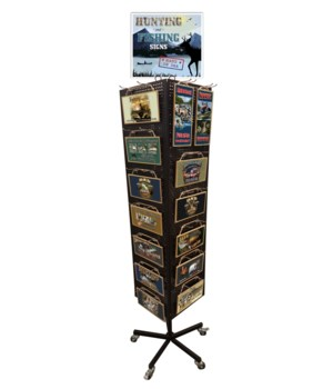 Great Outdoors Sign Display 168PC