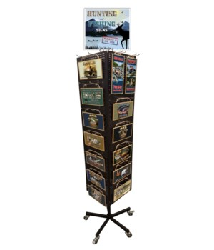 Lovers of Hunting&Fishing Display/168 PC