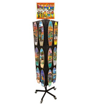 Tropical (Messina) Surfboard Sign Display 120PC
