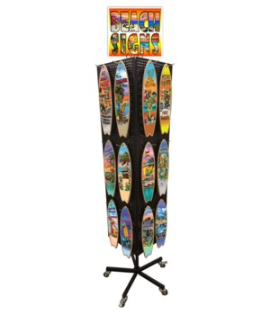 Tropical Surfboard display 24x5=120