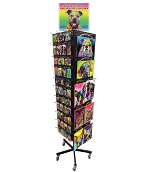 Dog Breed Dean Russo Sign & Magnet Display 216PC