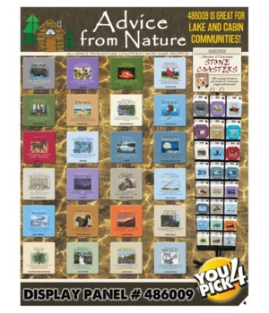 Advice from Nature 24 Asst 3 EA Coaster