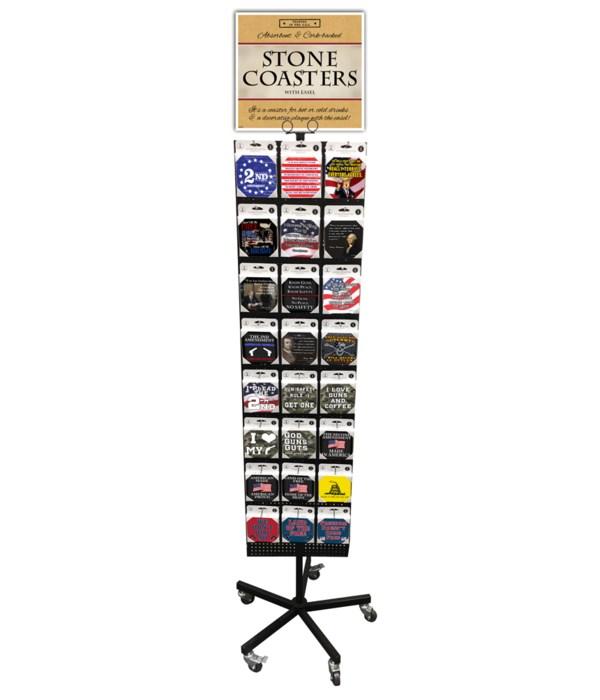 2nd Amendment Coasters 24 Asst / 72PC
