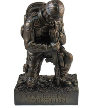 "Silent Salute (soldier)- 8.5"" tall"