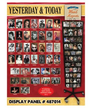 Yesterday & Today Magnet Panel / 120
