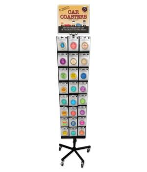 Humorous Car Coasters  (24/3=72)