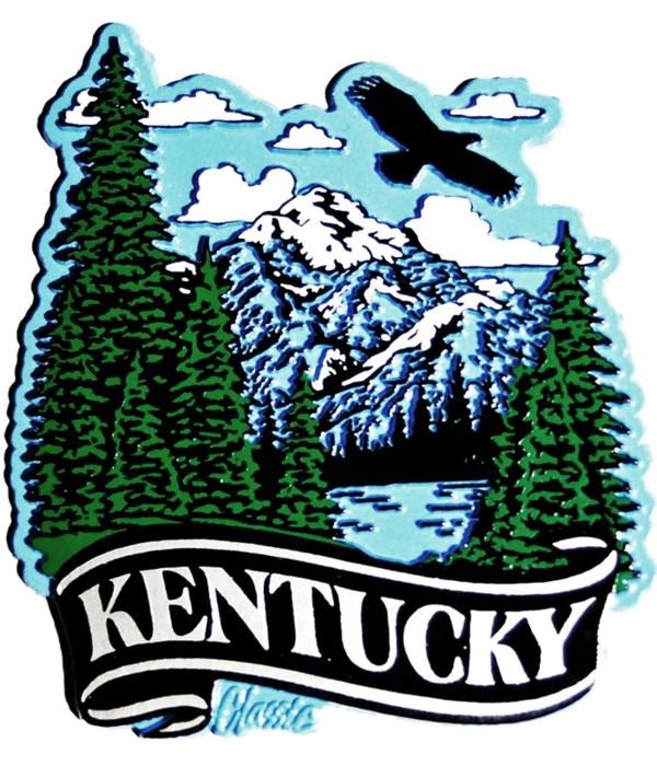 Kentucky Mountain banner magnet