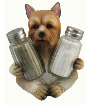 *Yorkie Salt & Pepper Set - 5.5""