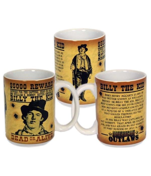 Billy The Kid Mug 6PC