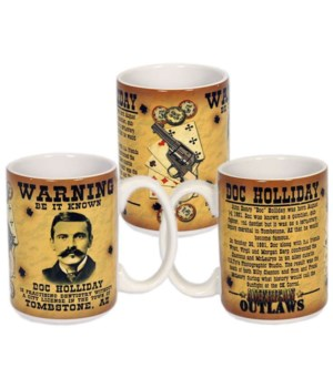 Doc Holliday Mug 6PC
