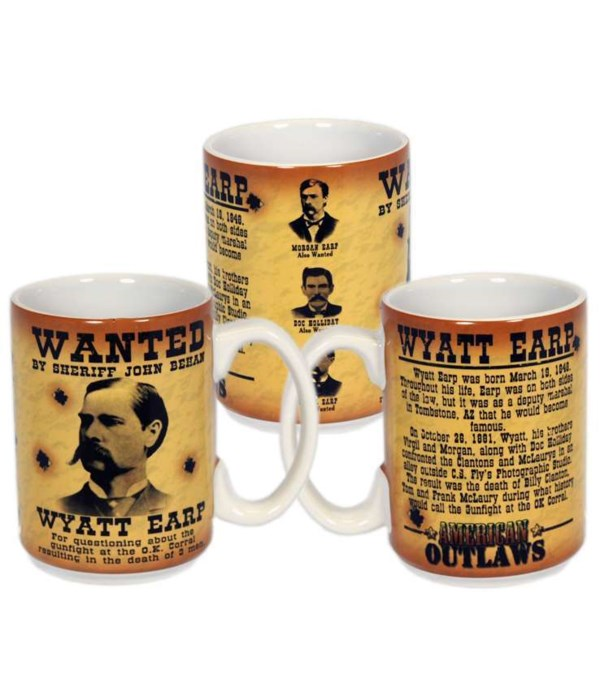 Wyatt Earp Mug 6PC