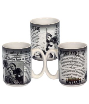 Bonnie & Clyde Mug 6PC