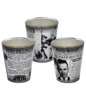 Dillinger Shotglass 12PC