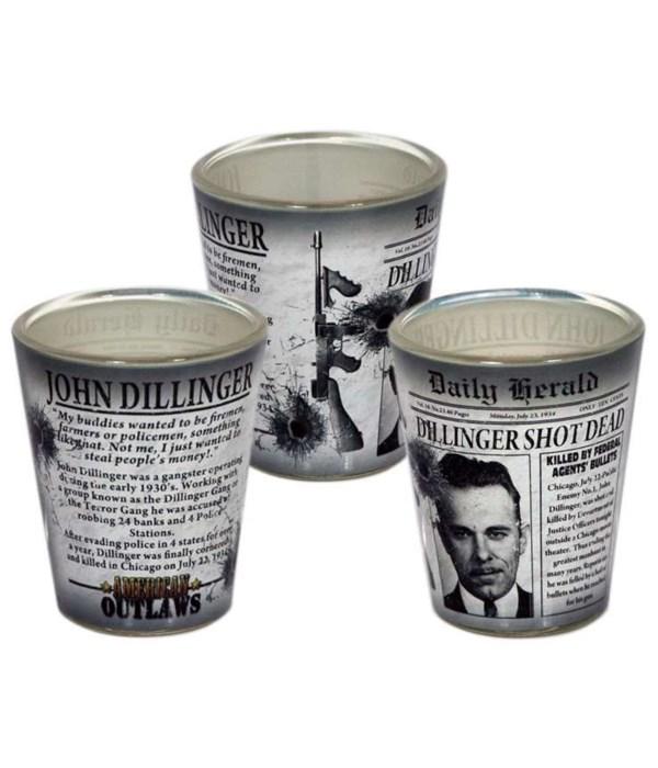 Dillinger Shotglass 12PC