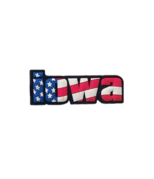 Iowa Magnet PVC Festive Flag