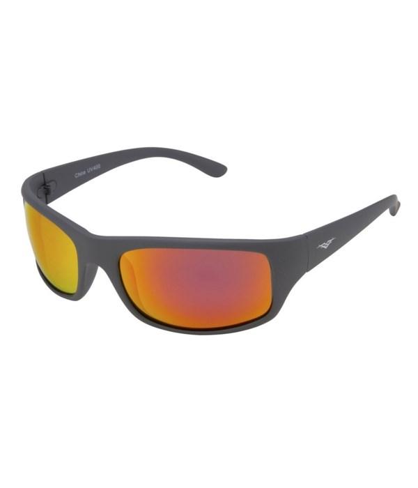 PolarVX Polarized PC Sports Wrap Sunglasses