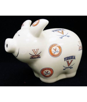 U-VA Bank Piggy Logo All Over
