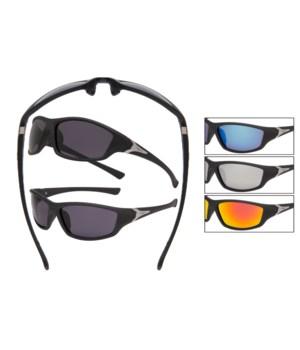 VERTX PC Black Sports Sunglasses