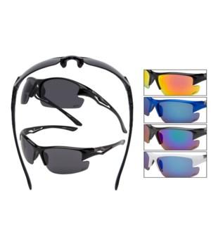 Vertex PC Sports wrap sunglasses