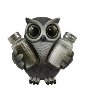 Owl (Lil Hoot) Salt & Pepper Set - 7.25""