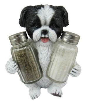"""*Shih Tzu Salt & Pepper 5.8"""""""