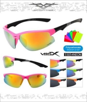 VERTX PC  NEON Sports Sunglasses