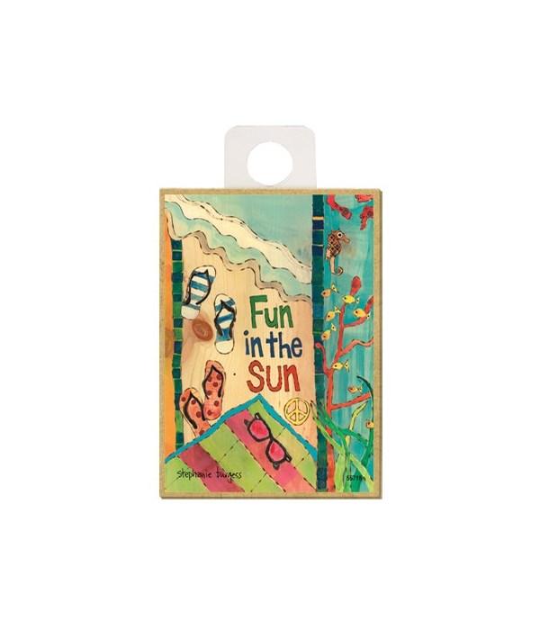 Fun in the sun (beach, flip flops, sungl
