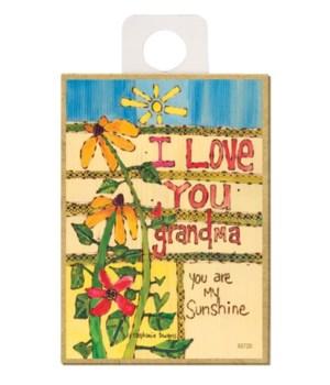 I love you Grandma - you are my sunshine