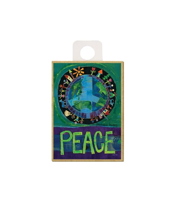 Peace (on Earth) Magnet