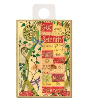 Serenity Prayer - God grant me the seren