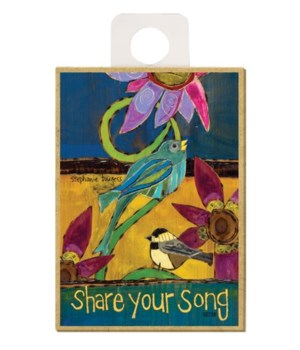 Share your song (blue bird and chickadee