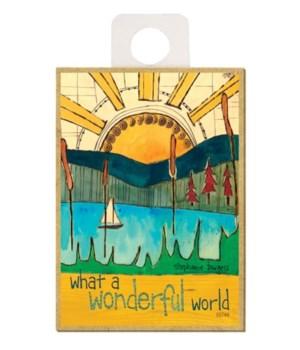 What a wonderful world (sun, water, sail