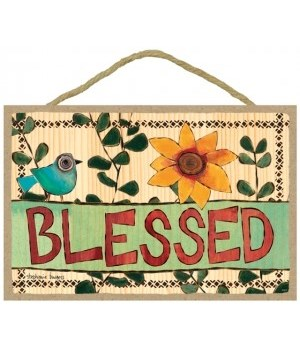 Blessed 7 x 10.5 sign